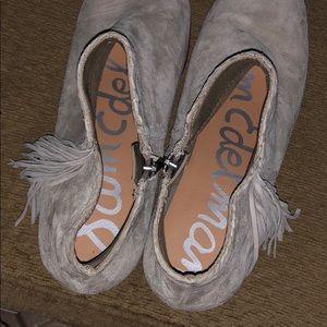 Sam Edelman Shoes - Sam Edelman fringe booties boots shoe heels